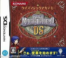 Used DS  Quiz Magic Academy  NINTENDO JAPANESE IMPORT
