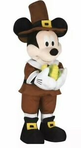 Fall Holiday Thanksgiving Disney 24 in Tall Mickey Mouse Harvest Greeter Lastone