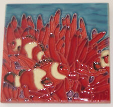 "Clown Fish Art Tile 4""x4"" Decorative Ceramic New Backsplash Under Water SD-119"
