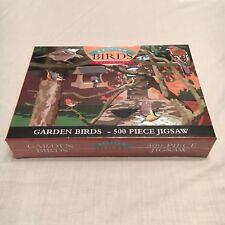 British Birds Collection GARDEN BIRDS - 500 Piece Jigsaw Puzzle Brand NEW