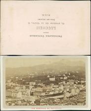 Lucchesi, Nice, quartier Carabacel Vintage CDV albumen carte de visite,  CDV