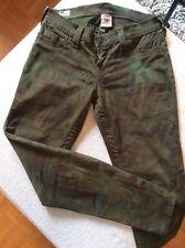 True Religion Mod. Casey NEUw Jeans Skinny W28 29 Military Camouflage *TOP*