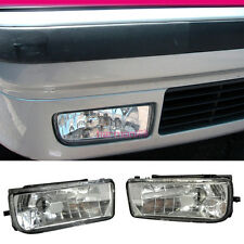 FIT FOR 92-98 BMW E36 318I 325I 328I CLEAR LENS FOG LIGHTS LAMPS RH & LH