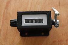 Mechanischer Zähler Counter Zählwerk mit Nullrückstellung Ballenzähler NEU