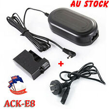 ACK-E8 AC Power LP-E8 Dummy Battery Adapter Charger for Canon 700D 650D 600D