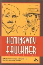Hemingway And Faulkner(Hardback Book)Earl Rovit And Arthur Waldhorn-