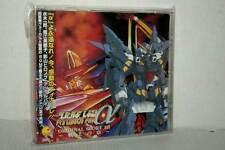 SUPER ROBOT TAISEN ALPHA ORIGINAL SCORE III CD AUDIO USATO OTTIMO TN1 49079