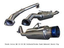 Scion XB 11 12 13 14 15 Tsudo burnt tip N1 Cat back exhaust Scuba Tank Downpipe