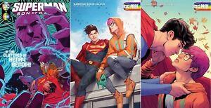 SUPERMAN SON OF KAL-EL #5 VARIANT SET NM JONATHAN KENT BISEXUAL DC LGBTQ RAINBOW