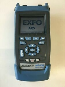 OTDR Optronics OPT-OTDR - EXFO Tester SM & MM Fibre Testing Excellent Condition