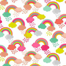 Rainbow Fabric Fantasy  100% Cotton,Patchwork,Quilt, Makower to Sew and Craft