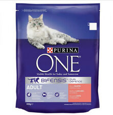 Purina One Adult Rich In Salmon & Whole Grains 800g