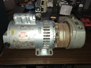 GAST Motor, #G608EX, 3/4rpm, 1725rpm, 100-115/208-230v, FR-XL56Z, With warranty