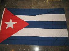 5x8 ft Cuba Cuban Flag Rough Tex Knitted 5'x8' Banner