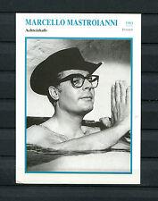 Starkarte Marcello Mastroianni - Achteinhalb  1963  (ST5)