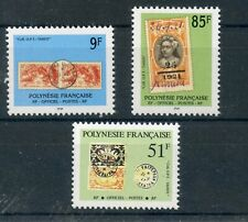 STAMP / TIMBRE POLYNESIE TAXE N° 26/28 ** TIMBRES ET CACHETS COTE + 6 €
