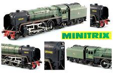 MINITRIX 203 E-Look STEAM-LOCO BRITANNIA BOXED SCALA-N