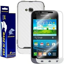 ArmorSuit MilitaryShield Samsung Galaxy Victory 4G LTE Screen + White Carbon