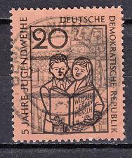 DDR 1959 MER. n. 681 Top pieno timbro timbrato LUSSO!!! (21778)