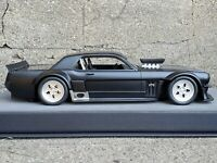 Top Marque 1965 Ford Mustang Hoonigan Black 1/12 Scale Resin 1 of 100 Model Car