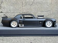 Top Marque 1965 Ford Mustang Hoonigan Black 1:18 Scale Resin 1 of 100 Model Car