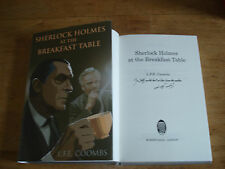 Sherlock Holmes at the Breakfast Table, L.F.E. Coombs,SIGNED COPY F/E.H/B.2012