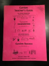 Handwriting Without Tears Cursive Teachers Book Guide
