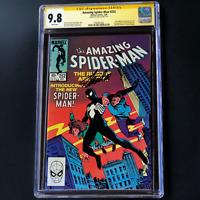 AMAZING SPIDER-MAN #252 💥 SIGNED BY STAN LEE 💥 CGC 9.8 SS 1ST BLACK SUIT VENOM