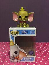 Custom Funko Pop Disney Oro Metálico Dumbo #50 Sdcc 2013 le 48 Venta