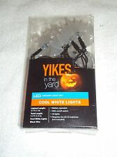 NEW YIKES COOL WHITE BATS LED INDOOR LIGHTS BATTERY OPERATED 10 LIGHTS