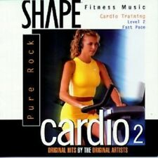 Shape Fitness Music Cardio Vol 2 by Various Artists CD Jan1997 The Right  NEW