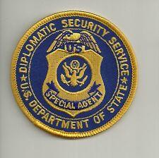 Federal: Diplomatic Security! agente speciale!!! POLICE POLIZIA distintivo Patch