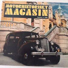 Motorhistoriskt Magasin Magazine Packard Plispiket No.1 1996 071017nonrh