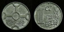 Netherlands - 1 Cent 1942 zink ~ FDC