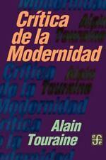 Critica de la Modernidad (Coleccion Popular) (Spanish Edition)-ExLibrary