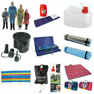 Camping Equipment Festival Accessories Sleeping Bag Tent Pegs Picnic Rug Stove