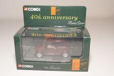 ^ CORGI TOYS 04502 4502 40TH ANNIVERSARY MINI 1000 MULBERRY RED MINT BOXED