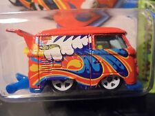 HOT WHEELS / hw  > KOOL KOMBI  van,  RARE  vw  2013  COLLECTOR  w/ mags,  #4