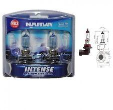Narva Intense HB3 Performance Blue Halogen Globes bright white light 48473bl2