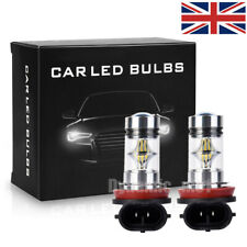 H11 LED Fog Lights Driving H8 Bulb DRL High Power 100W 6000K Xenon Headlight