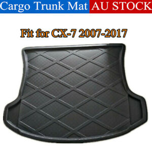 Car Cargo Trunk Mat Protector Boot Liner Cover For Mazda CX-7 CX7 2007-2017