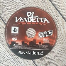 Def Jam vendetta Ps2 Playstation Game Disc Only