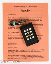 Lowe Remote Keypad For HF-150 & HF-225 Shortwave Radio Receivers