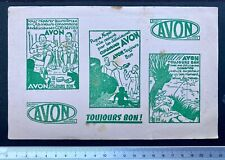 Buvard  Conserves Avon / Scout / Blotter