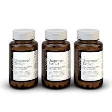 3x estratto di semi d'uva - 300mg x 540 Compresse - 90% ProantoCianidine Oligomeriche