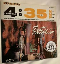 TED AULETTA exotica  Cameo SC 4008 4 CHANNELS ON 35mm film orig 1962 MINT