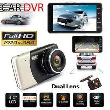 "New listing 4"" Dual Lens Camera Hd Car Dvr Dash Cam Video Recorder G-Sensor Night Vision Lx"