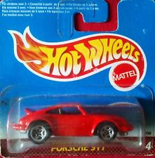 HOT WHEELS  '90s porsche 911 _mint on short card.  new unopen