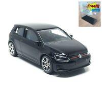 Majorette Volkswagen VW Golf VII GTI Black 1/64 264C no Package Free Display Box