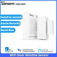 SONOFF DW2 WIFI Door Window Sensor Smart Switch Alarm Security System Automation